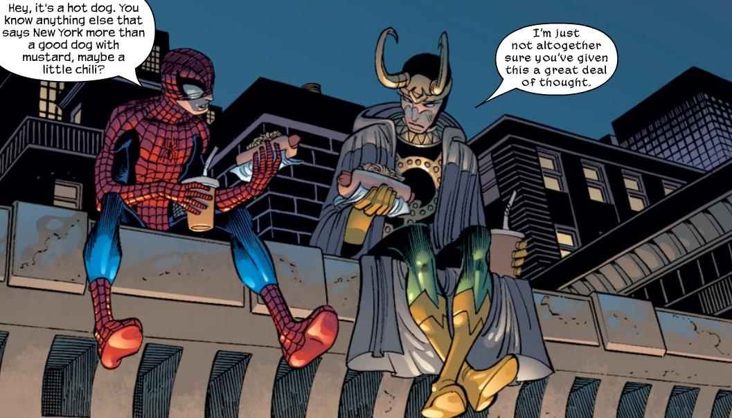 Ultimate Spider Man Loki
