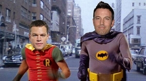 Bat-Affleck and Matt Damon