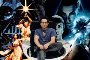 "J.J. Abrams -director of 2009's ""Star Trek"", ""Star Trek Into Darkness"", and the upcoming ""Star Wars - Episode VII"""