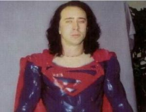 Nicholas Cage in 'Superman Lives'