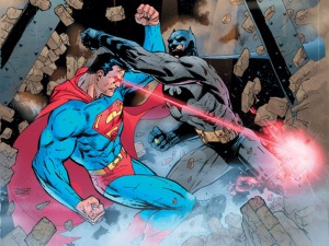 Superman vs Batman - Hush (Jim Lee)
