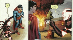 Action Comics #900 - it only took a few thousand issues and the ultimate power in the universe for him to put 2 and 2 together...