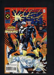 Quicksilver's X-Men team