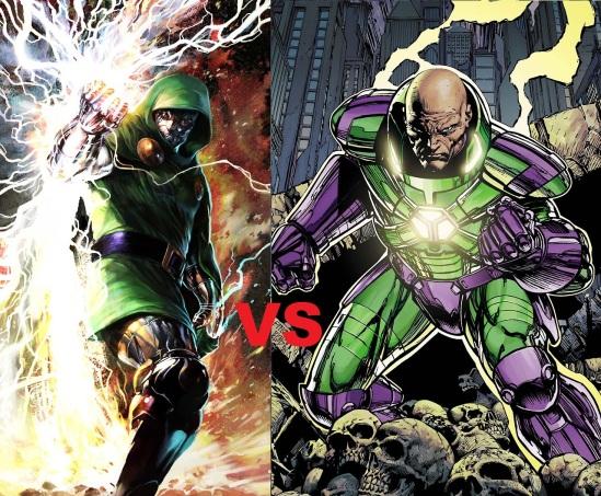 Dr. Doom vs Lex Luthor
