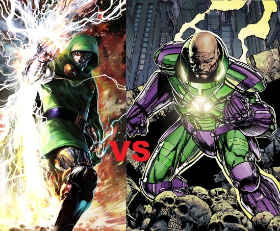 Dr. Doom vs Lex Luthor