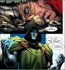 """""""The Odinforce."""" """"Is that what you call the power? I call it """"Doom's""""."""" Bad. Ass."""