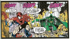 Spidey is a pretty formidable opponent. Maybe not Thor-level, but still. And Doom EMBARRASSED him. Spidey was literally running for his life.