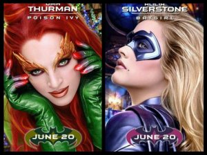 Batgirl / Poison Ivy - posters