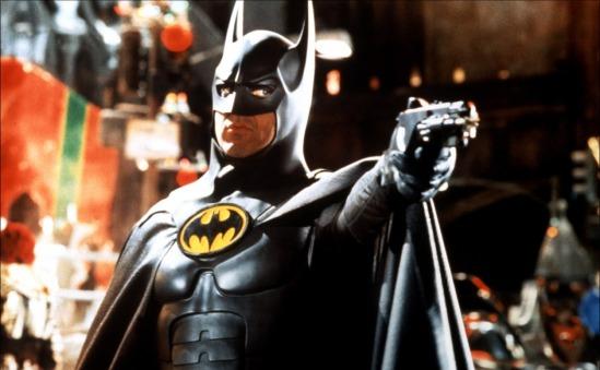 Batman being a badass.