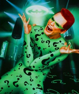 Jim Carrey as the Riddler