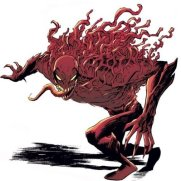 Eddie Brock as Toxin. Poor bastard.