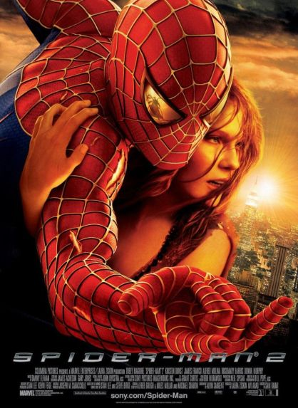 Spider-man 2 - poster (Mj)