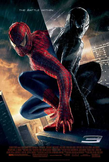 Spider-man 3 poster (black suit reflection)