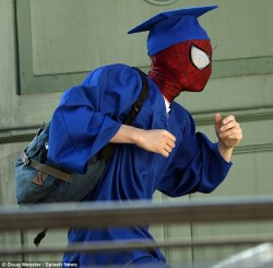 spidey graduation