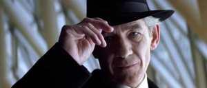 Magneto tips hat