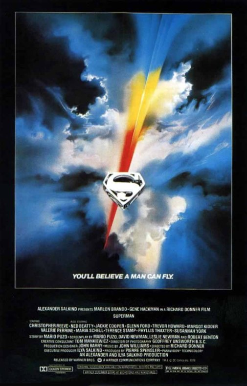 Superman: The Movie - poster