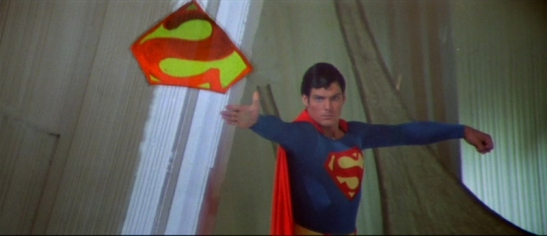 Superman II - the stupid celaphane S