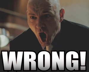 WRONG! - Lex Luthor (Kevin Spacey)
