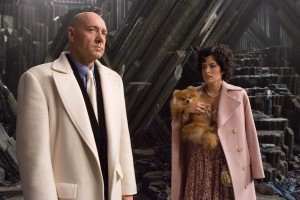Superman Returns - Kevin Spacey as Lex Luthor and Parker Posey as Kitty Kowalski
