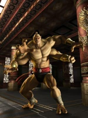 goro from Mortal Kombat
