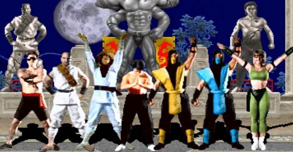 Mortal Kombat Kast