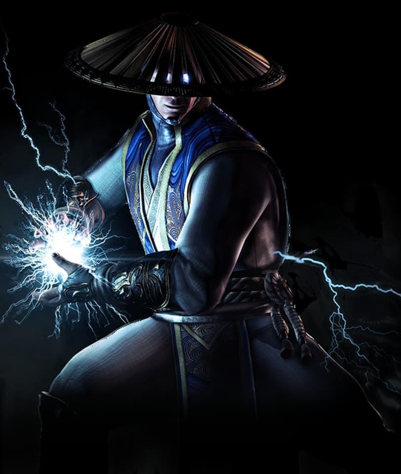 Raiden and his lightning