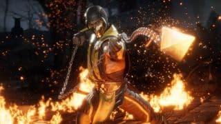 Scorpion doing his Scorpion thing